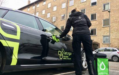 Miljøvenlig bilvask i hovedstaden