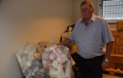Tomme dunke samles og indgår i genbrug til nye produkter