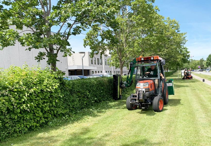 Nye værktøjer  styrker arbejdsmiljøet  for gartnerne