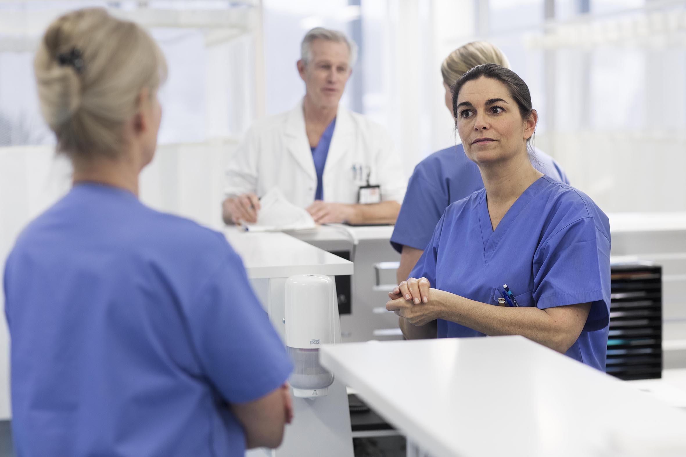 Tork giver sundhedspersonale tryghed mod covid-19